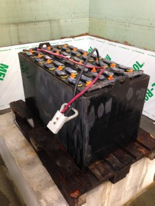 Refurbished Forklift Battery